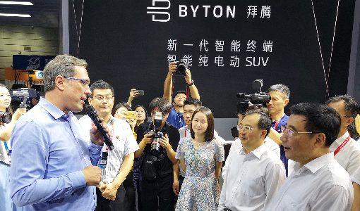 BYTONがSUVタイプEV「M-Byte Concept」を披露。2019年後半に量産化