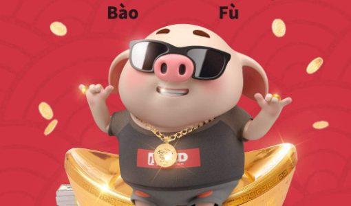 中国は「ブタ年」、「震驚文化」のキャラクター「猪小屁」がSNSを席巻