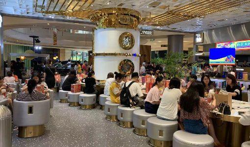 中国で大ブームのティースタンドが高級大型店を次々出店、過当競争を勝ち抜く一手となるか