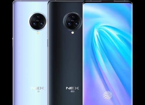 驚異のフル画面「ウォーターフォールディスプレイ」搭載、vivoが2機種目の5G対応機「NEX 3」を発表