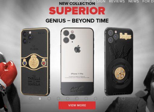 ジョブズ氏のサイン入りiPhoneをロシア企業が発売 価格は68万円から