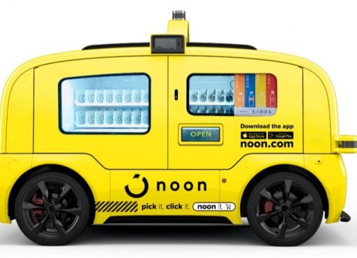 物流の無人化に特化する「新石器」、Eコマース未開の中東で自動運転車5000台投入