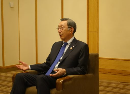 日清・安藤広基社長、「変わらぬおいしさをテクノロジーで追求していく」