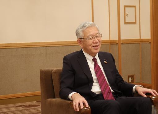 旭化成の小堀秀毅社長、ノーベル化学賞受賞者を輩出した技術力でアジア地域でのプレゼンス発揮に自信
