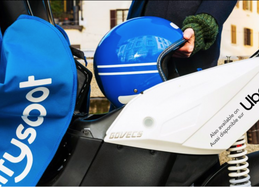 Uber、パリでシェア電気バイクサービスを開始 Lyftと2輪車市場の争奪戦へ