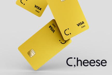 米国留学生や移民向けのキャッシュバック付きデビットカード「Cheese」、シードラウンドで数千万円を調達