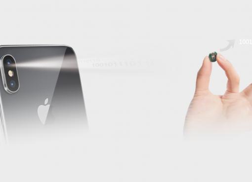 可視光通信技術を実用化 各種認証や買い物一瞬で