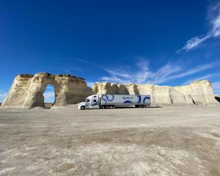 米大陸横断の快挙 シリコンバレー発の中国企業「Plus.ai」が自動運転トラックで冷蔵輸送