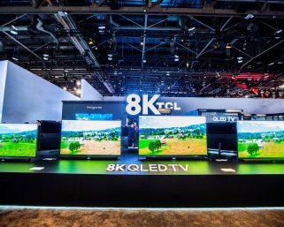 サムスン、スカイワース、TCLが最新の8K放送対応テレビを発表ーCES2020