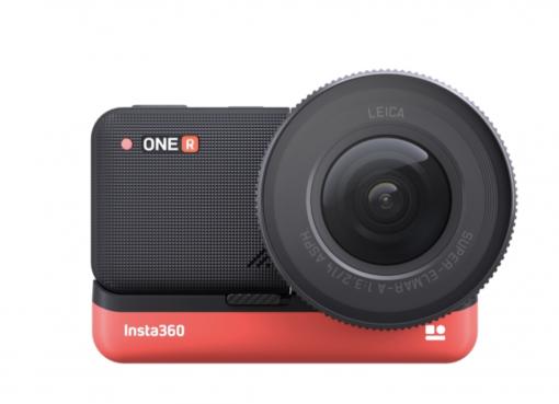 360度カメラの「Insta360」、ライカのレンズを搭載したアクションカメラ「ONE R」を発表