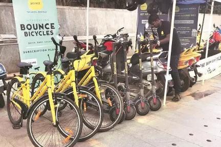 インドの電動バイクシェア「Bounce」:シリーズDで約105億円を調達