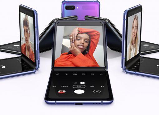ガラケーを彷彿させる「タテ折りスマホ」 サムスンが「Galaxy Z Flip」を発表