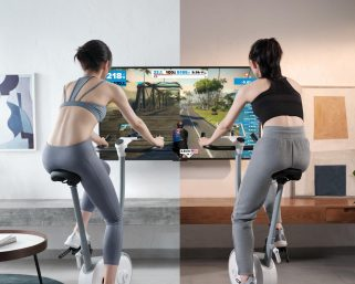 自宅でのトレーニングをAIが指導する時代へ、AI×フィットネスバイクの「NEXGIM」売れ行き上々