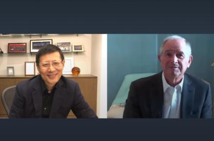 経済界の2大巨人〜ブラックストーンCEO×セコイア中国創業者対談 「コロナ後は転機いっぱい」