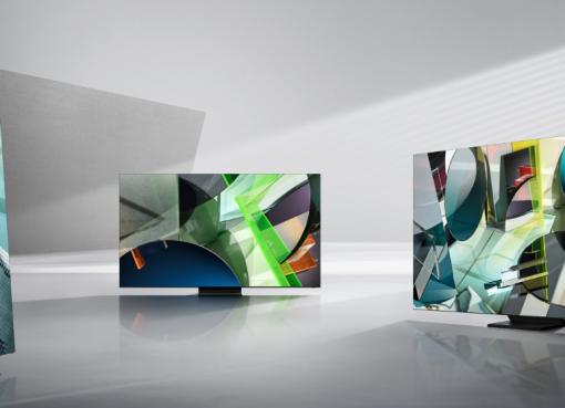サムスン、最新8Kテレビは低解像度の映像も超高画質に 明るさや音量は自動調整