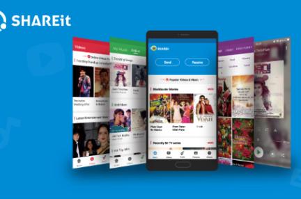 データ共有アプリ「SHAREit」:テンセントと快手から資金を調達