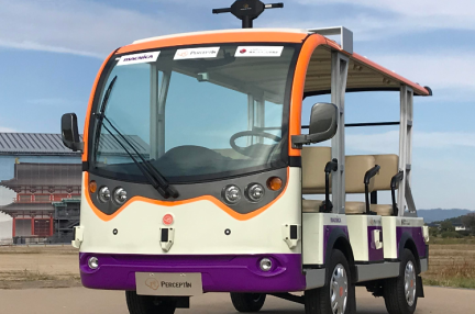 自動運転技術の「パーセプティン」、日米で100台超の無人運転車を実用化予定