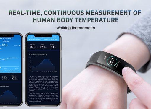 指先ワンタッチで血圧から心電図まで測定  心臓疾患防止にスマートウオッチが活躍