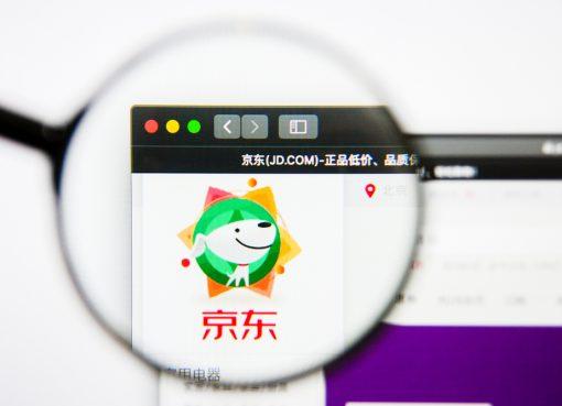 京東、時価総額1000億ドル突破 中国IT企業で5社目