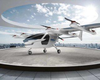 自動車大手吉利(Geely)、次世代「空飛ぶクルマ」仕様を発表 外見はサメにそっくり