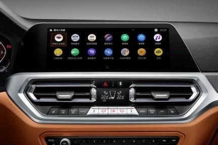 BMWがテンセントと提携、車載アプリ「In-car WeChat」など搭載