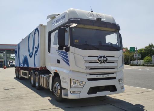 Plus.aiが手掛けるL3自動運転トラック、中国トラック配車最大手と提携 輸送業務を開始