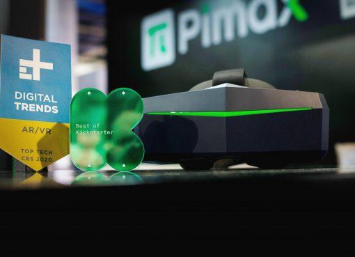 VRヘッドセット「Pimax」が約20億円を調達 世界トップレベルの特許を16件も取得