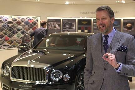 英高級車ベントレーのデザイン責任者、中国自動車大手「吉利」に加入か