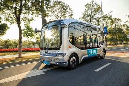 自動運転スタートアップ「WeRide」:シリーズBでの調達総額が320億円に 広州でミニロボバス試験運用を開始