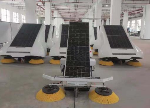 中国で無人清掃車の実用化進む トップランナー企業が19億円の資金調達で日本にも進出か