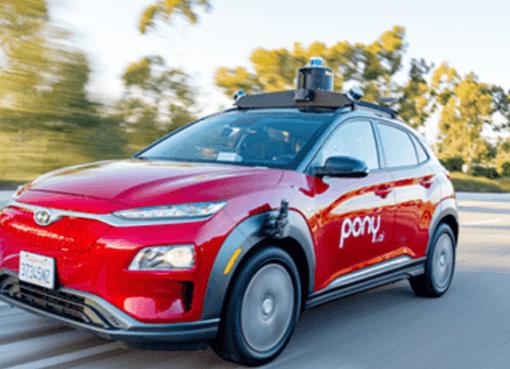 トヨタ出資の自動運転企業「Pony.ai」、米国で完全無人ロボタクシー運用を計画