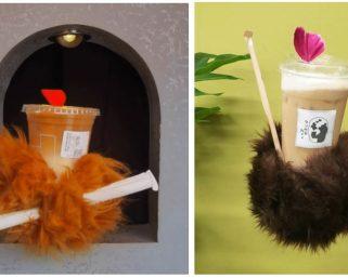 「パクリ」か「参考」か、大阪の「クマの手カフェ」が中国の超人気店酷似で物議